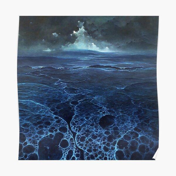 Untitled (Sea) by Zdzislaw Beksinski Poster
