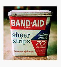 Band-Aid Box Photographic Print