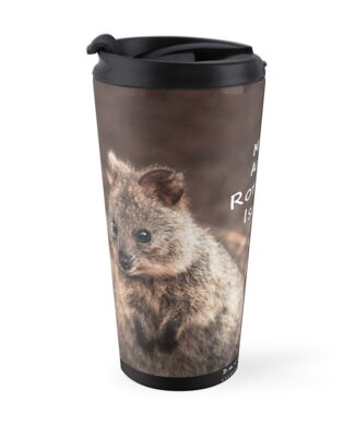 Quokkas - MAD About Rottnest, Western Australia by Dave Catley