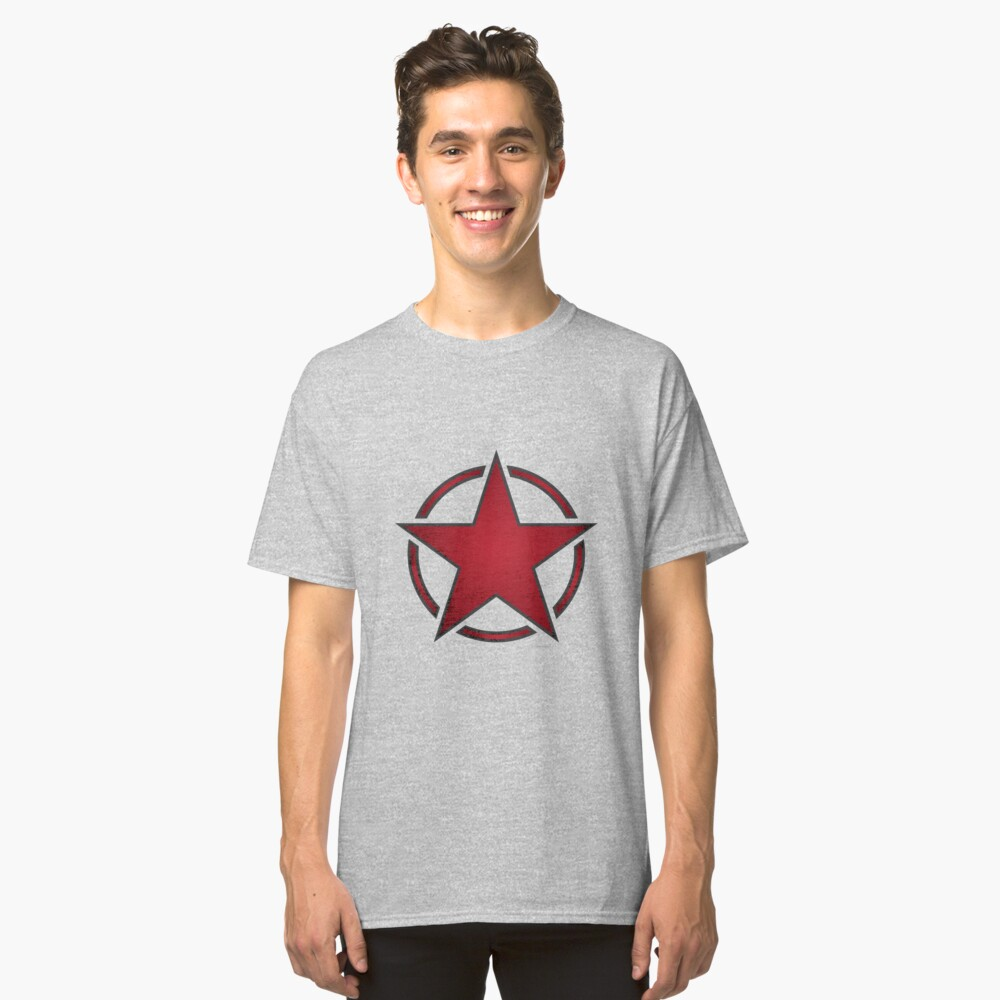 Race Star - red Classic T-Shirt