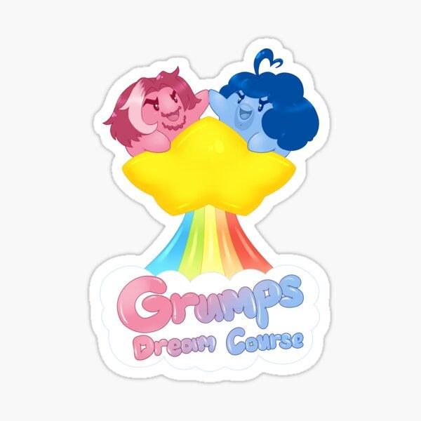 Grumps Dream Course  Sticker