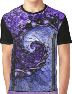 Nocturne of Scorpio -- Fractal Astrology Graphic T-Shirt