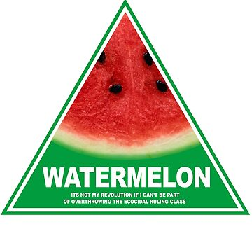 NSW Greens watermelon by mcdf