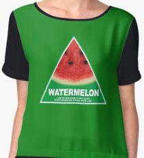 NSW Greens watermelon Women's Chiffon Top