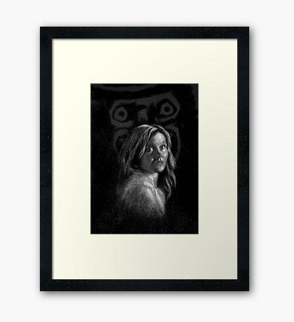 The Babadook Framed Print