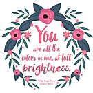 All The Bright Places Quote <3 by Jasmine Pearl Raymundo