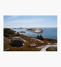 Fall on the Nova Scotia Coast Photographic Print