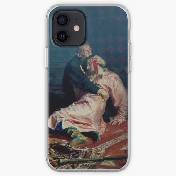Ilya Repin - Ivan The Terrible And His Son Ivan iPhone Soft Case