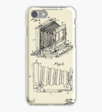 Folding Photographic Camera-1904 iPhone Case/Skin