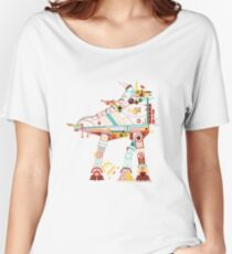 Robot Walker Women's Relaxed Fit T-Shirt