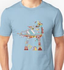 Robot Walker Unisex T-Shirt