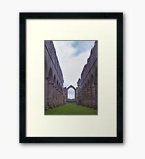 Abbey Ruins Framed Print