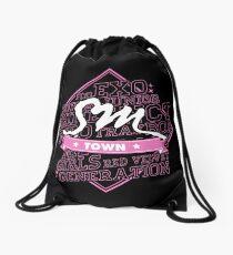 SM Town Drawstring Bag