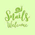 Snails welcome by jazzydevil