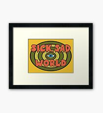 This Sick Sad World (Daria) Framed Print