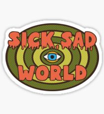 This Sick Sad World (Daria) Sticker