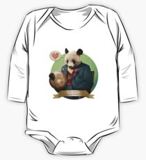 Wise Panda: Love Makes the World Go Around! One Piece - Long Sleeve