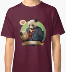 Wise Panda: Love Makes the World Go Around! Classic T-Shirt