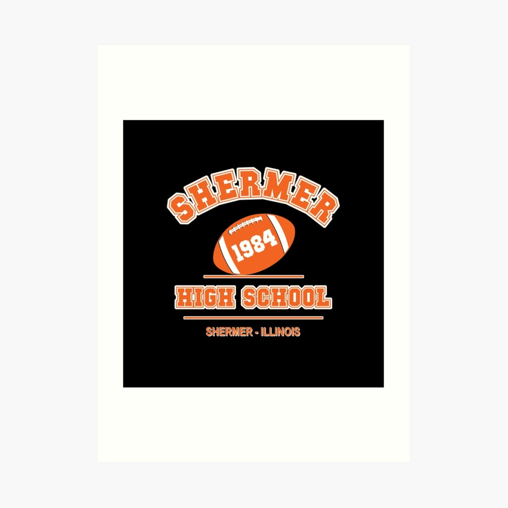 Der Frühstücksclub - Shermer High 1984 ' Kunstdruck