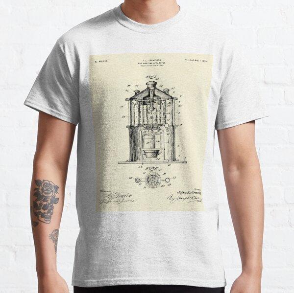 Gas Lighting Apparatus-1899 Classic T-Shirt