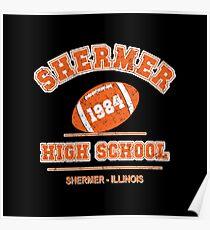 Der Frühstücksclub - Shermer High 1984 'Distressed Variante Poster