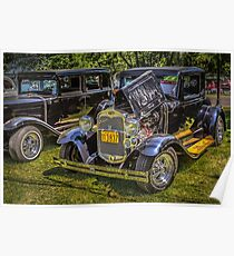 1930 Ford A Coupe Poster