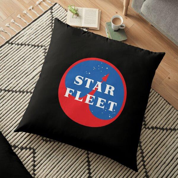 Space Fleet Logo  Floor Pillow