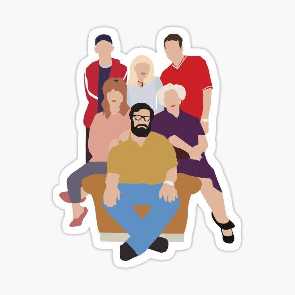 The Royle Family Sticker