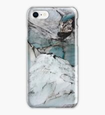 Glacier marble photo iPhone Case/Skin