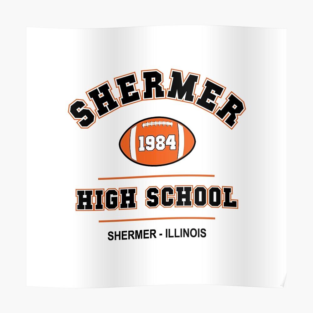 Der Frühstücksclub - Shermer High 1984 Light Variante Poster