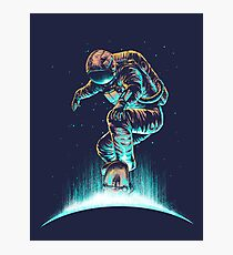 Space Grind Photographic Print