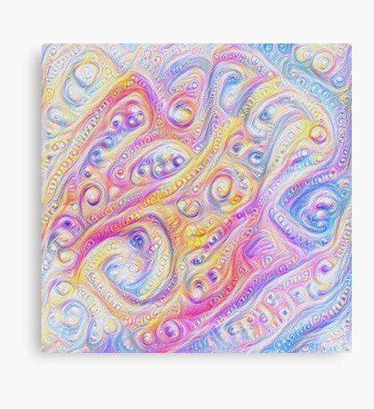 Summer day #DeepDream A Canvas Print