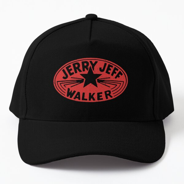Jerry Jeff Walker vintage logo Baseball Cap