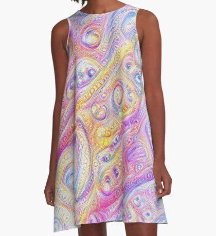 Summer day #DeepDream A A-Line Dress