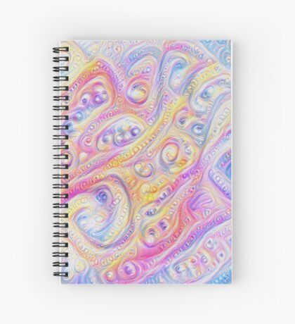 Summer day #DeepDream A Spiral Notebook