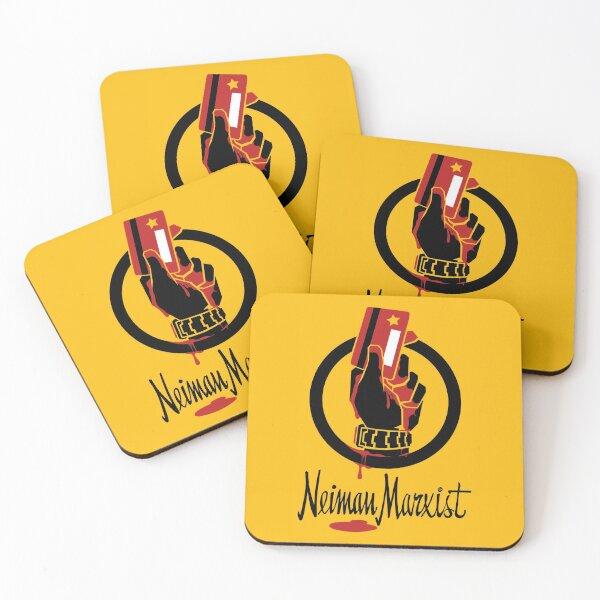 neiman marxist   praxis of ideas matters Coasters (Set of 4)