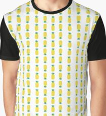 Pineapple Pool Toy Crop Graphic T-Shirt