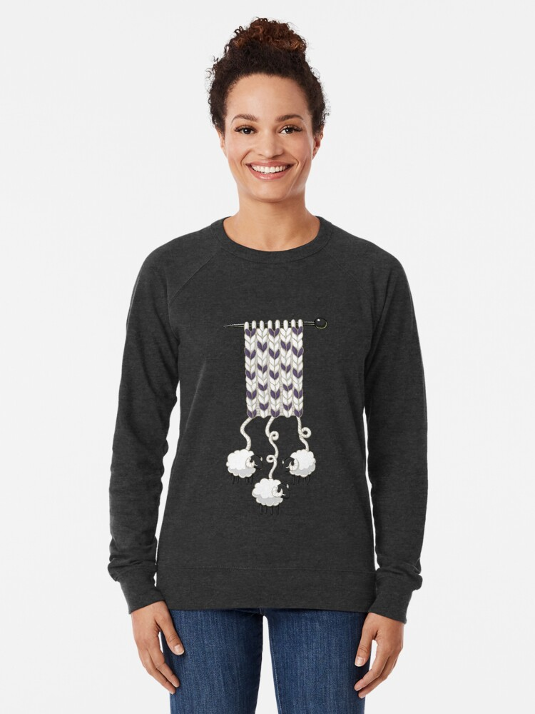 Alternative Ansicht von Wollschal Leichter Pullover