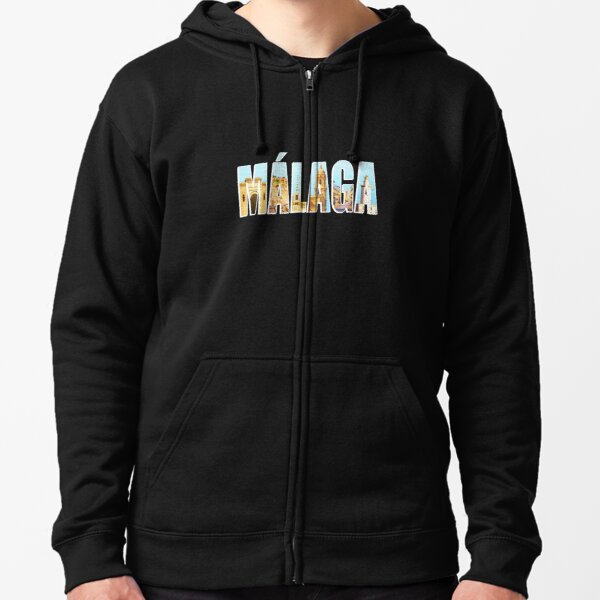 Malaga, Souvenir Zipped Hoodie