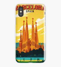 Travel Barcelona iPhone Case/Skin