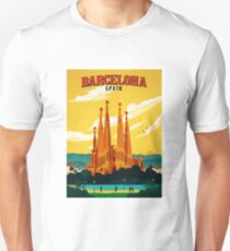 Travel Barcelona Unisex T-Shirt