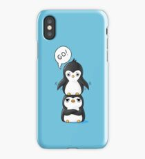 Penguins iPhone Case