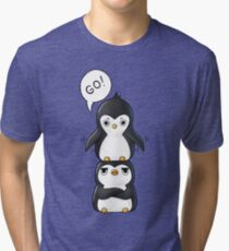 Penguins Tri-blend T-Shirt