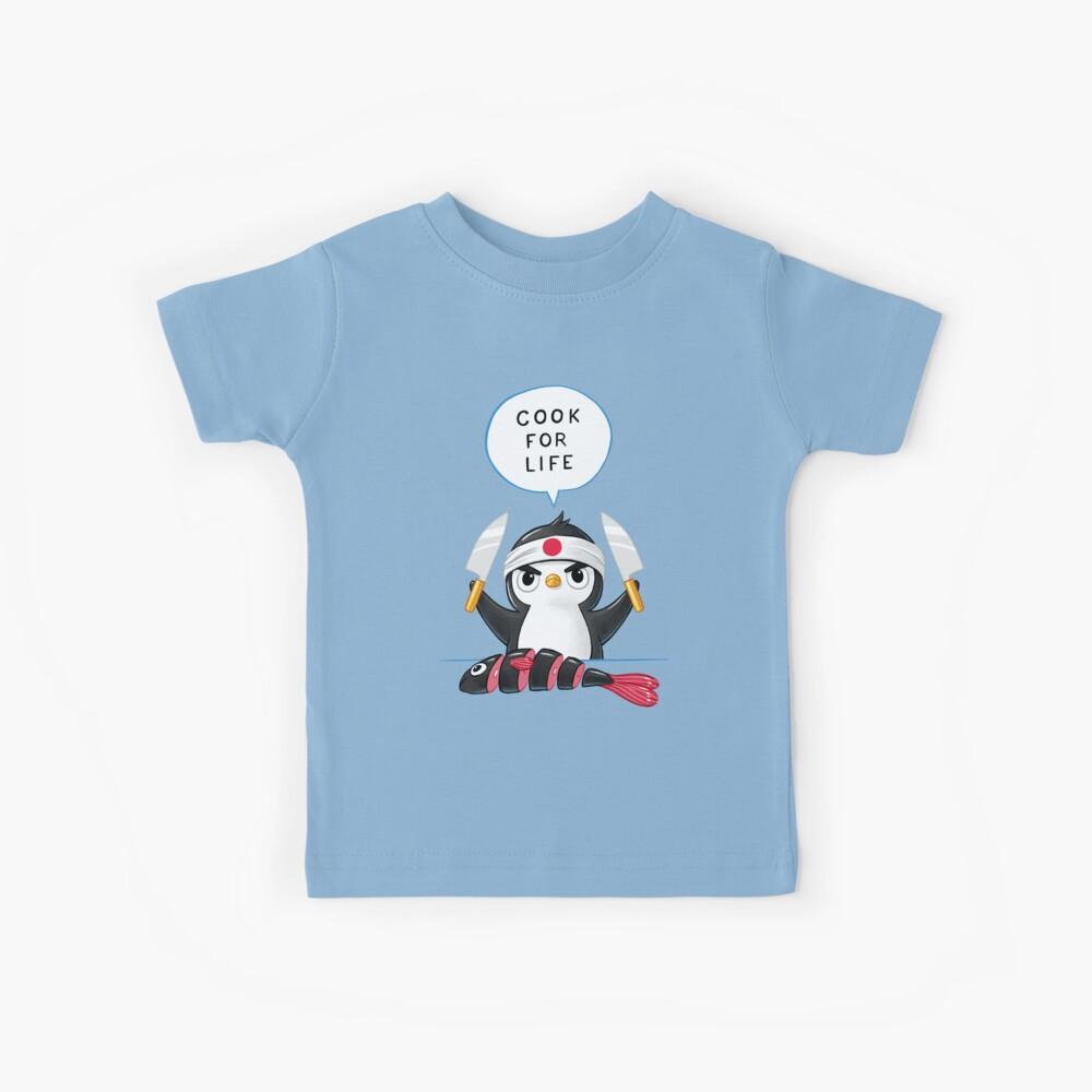 Penguin Chef Kids T-Shirt