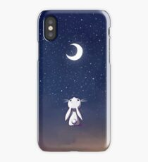 Moon Bunny iPhone Case/Skin