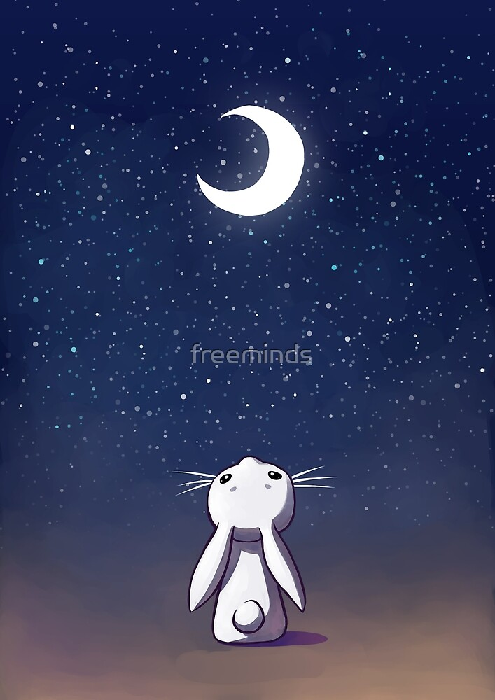Moon Bunny by freeminds
