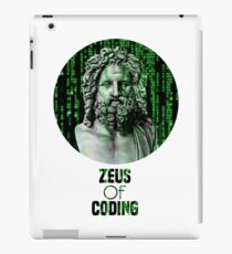 ZEUS OF CODING iPad Case/Skin