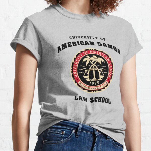 University of American Samoa Law School Logo Better Call Saul Classic T-Shirt