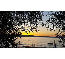 Croatia - Sunset Photographic Print