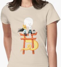Torii 3 Womens Fitted T-Shirt
